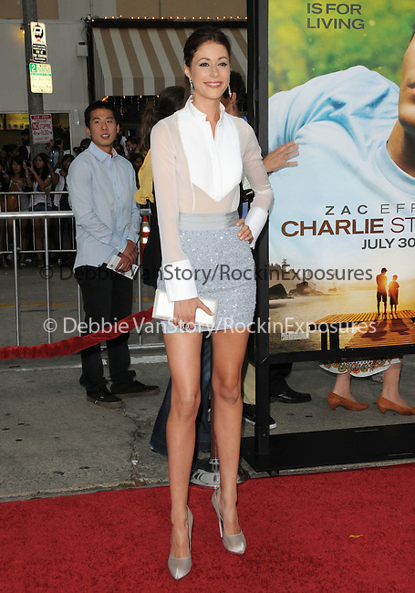 Amanda Crew at the Universal Pictures' World Premiere of Charlie St. Cloud held at The Regency Village Theater in Westwood, California on July 20,2010                                                                               © 2010 Debbie VanStory / Hollywood Press Agency