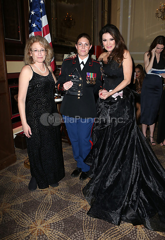 LOS ANGELES, CA - NOVEMBER 9: Lauren Meister, Megan Leavey, Lisa Vanderpump, at the 2nd Annual Vanderpump Dog Foundation Gala at the Taglyan Cultural Complex in Los Angeles, California on November 9, 2017. Credit: November 9, 2017. Credit: Faye Sadou/MediaPunch