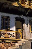 Europe/France/Rhône-Alpes/74/Haute-Savoie/Env d'Abondance: Les Folys - Détail chalet