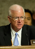 United States Senator Saxby Chambliss (Republican of Georgia), listens as General John R. Allen, USMC, Commander, International Security Assistance Force and Commander, United States Forces Afghanistan, testifies on the situation in Afghanistan before the U.S. Senate Armed Services Committee on Capitol Hill in Washington, D.C. on Thursday, March 22, 2012..Credit: Ron Sachs / CNP
