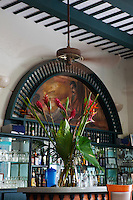 Restaurant in Old San Juan, Puerto Rico, August, 2011. Images are available for editorial licensing, either directly or through Gallery Stock. Some images are available for commercial licensing. Please contact lisa@lisacorsonphotography.com for more information.
