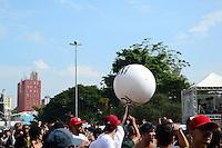 SÃO PAULO. SP 18.05.2014. VIRADA CULTURAL 2014 - RZO durante a Virada Cultural São Paulo na Julio Prestes neste domingo 18 ( Foto : Bruno Ulivieri / Brazil Photo Press )