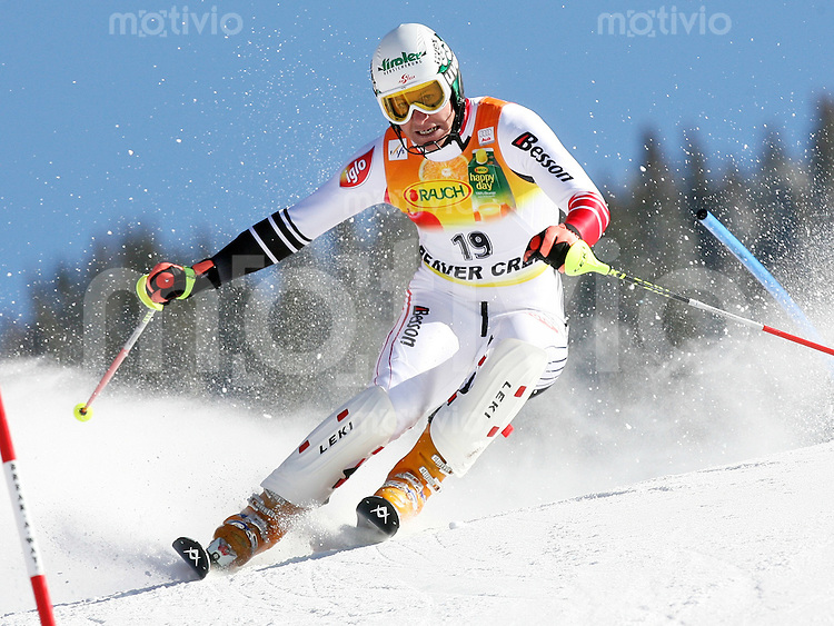 Ski Alpin; Saison 2006/2007  Slalom Herren Manfred Pranger(AUT) belegt Platz 7.