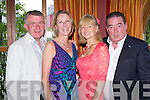 Seamus and Mary McCarthy with Eileen and Tim Brosnan Killarney having fun at the Celebrity Chef dinner in the Plaza Hotel on Thursday night
