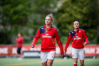 Seattle, WA - Thursday, May 26, 2016: Arsenal Ladies FC forward Jodie Taylor (18). The Seattle Reign FC of the National Women's Soccer League (NWSL) and the Arsenal Ladies FC of the Women's Super League (FA WSL) played to a 1-1 tie during an international friendly at Memorial Stadium.