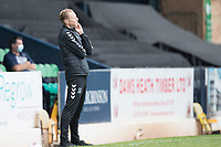 Mark Molesley, Southend United Managerduring Southend United vs West Ham United Under-21, EFL Trophy Football at Roots Hall on 8th September 2020
