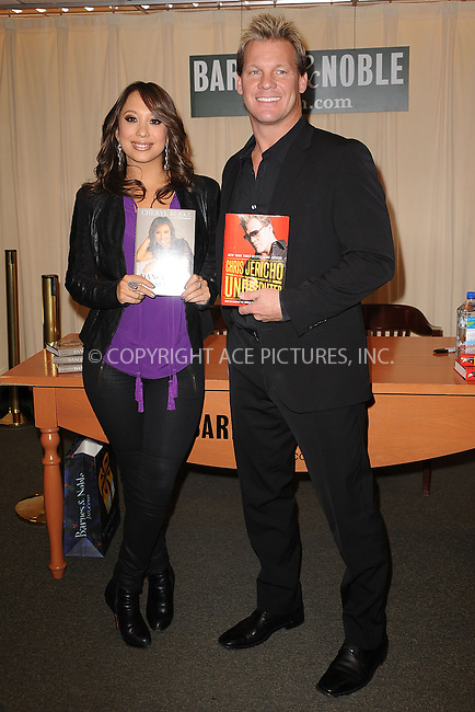 WWW.ACEPIXS.COM . . . . . .March 31, 2011...New York City... Cheryl Burke and Chris Jericho sign books at Barnes and Noble Fifth Avenue on  March 31, 2011 in New York City....Please byline: KRISTIN CALLAHAN - ACEPIXS.COM.. . . . . . ..Ace Pictures, Inc: ..tel: (212) 243 8787 or (646) 769 0430..e-mail: info@acepixs.com..web: http://www.acepixs.com .