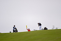 Rafael Cabrera Bello (ESP) hits his approach shot on 9 during round 3 of the 2019 US Open, Pebble Beach Golf Links, Monterrey, California, USA. 6/15/2019.<br /> Picture: Golffile | Ken Murray<br /> <br /> All photo usage must carry mandatory copyright credit (© Golffile | Ken Murray)