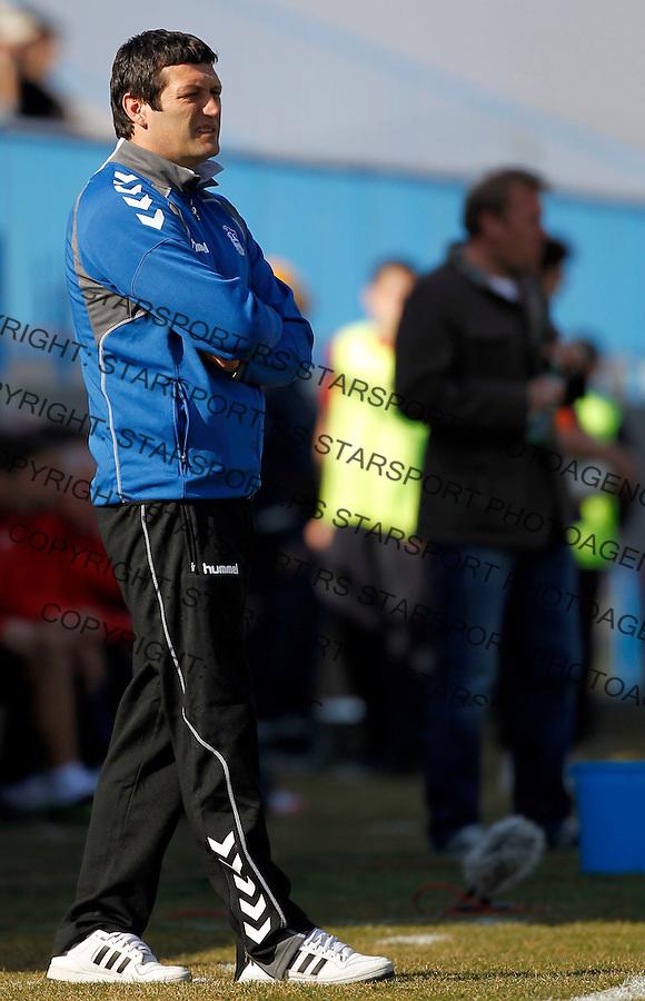 Fudbal, Jelen super liga, sezona 2011/12.BSK Borca Vs. Crvena Zvezda.Head coach Velicko Kaplanovic.Belgrade, 17.03.2012..foto: Srdjan Stevanovic/Starsportphoto ©