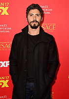 """HOLLYWOOD - JANUARY 8: Filipe Valle Costa attends the Red Carpet Premiere Event for FX's """"The Assassination of Gianni Versace: American Crime Story"""" at ArcLight Hollywood on January 8, 2018, in Hollywood, California. (Photo by Scott Kirkland/FX/PictureGroup)"""