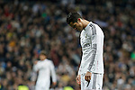 Real Madrid´s Cristiano Ronaldo regrets his performance during La Liga match at Santiago Bernabeu stadium in Madrid, Spain. February 14, 2015. (ALTERPHOTOS/Victor Blanco)