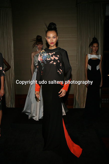 Model Wearing Theia Spring 2014 at Theia Spring 2014 Presentation Held at the New York Palace, NY