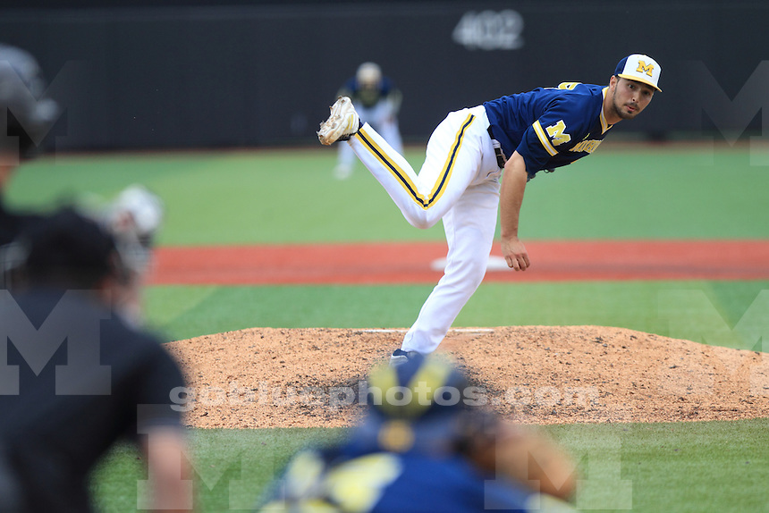 The University of Michigan Baseball team end their 2015 season with a loss to Louisville in their 5th game of the 2015 Louisville NCAA Regional Championship.