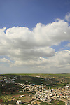 Palestinian village Jalbun on Mount Gilboa