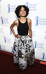 Lauren Ridloff attends the 74th Annual Theatre World Awards at Circle in the Square on June 4, 2018 in New York City.