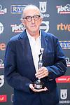 Jaume Roures receive the 'Cine y Educacion en Valores' prize for the movie 'Esteban' in Platino Awards 2017' at La Caja Magica in Madrid, July 22, 2017. Spain.<br /> (ALTERPHOTOS/BorjaB.Hojas)