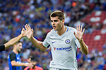 Forward Alvaro Morata gestures during the International Champions Cup 2017 match between FC Internazionale and Chelsea FC on July 29, 2017 in Singapore. Photo by Marcio Rodrigo Machado / Power Sport Images