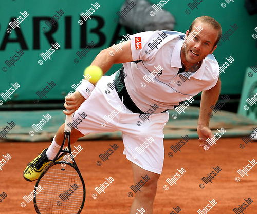 2010-05-26 / Tennis / Roland Garros 2010 / Day 4 / Olivier Rochus (BEL) during his game against Reister..Foto: mpics