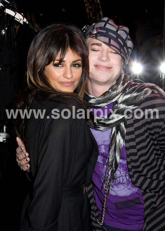 **ALL ROUND PICTURES FROM SOLARPIX.COM**.**SYNDICATION RIGHTS FOR UK, SPAIN, PORTUGAL, AUSTRALIA, S.AFRICA & DUBAI (U.A.E) ONLY**.The Celebrities Help Mango Celebrate the Prelaunch of Their Soho Flagship Store in New York,New York City in the USA. .This pic:Monica Cruz and Richie Rich..JOB REF:7972-PHZ/Janet Mayer    DATE: 20-11-08.**MUST CREDIT SOLARPIX.COM OR DOUBLE FEE WILL BE CHARGED* *UNDER NO CIRCUMSTANCES IS THIS IMAGE TO BE REPRODUCED FOR ANY ONLINE EDITION WITHOUT PRIOR PERMISSION*