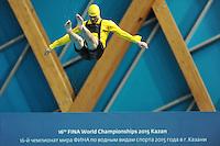 Entertainment <br /> Day2 25/07/2015 Aquatics Palace <br /> Diving / Tuffi Women's 3m Synchro Springboard - Trampolino Sincronizzato 3m Donne <br /> XVI FINA World Championships Aquatics  <br /> Kazan Tatarstan RUS <br /> Photo Andrea Staccioli/Deepbluemedia/Insidefoto