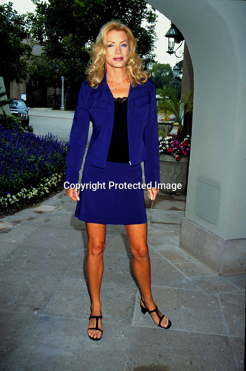 "©KATHY HUTCHINS/HUTCHINS.7/28/97 "" WARNER BROTHERS TV PRESS TOUR"".SHANNON TWEED"