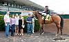 Graced winning at Delaware Park on 9/9/13