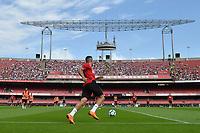 SÃO PAULO, SP, 30.06.2018 - TREINO SÃO PAULO – Jogadores do São Paulo durante treino realizado no estádio do Morumbi em São Paulo, neste sabado, 30. (Foto: Levi Bianco/Brazil Photo Press)