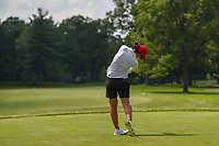 Carlota Ciganda (ESP) watches her tee shot on 11 during round 3 of the 2018 KPMG Women's PGA Championship, Kemper Lakes Golf Club, at Kildeer, Illinois, USA. 6/30/2018.<br /> Picture: Golffile | Ken Murray<br /> <br /> All photo usage must carry mandatory copyright credit (&copy; Golffile | Ken Murray)