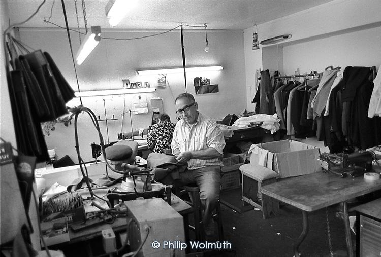 L.Y. Triantafillou, tailor, Pancras Road, Kings Cross, London.