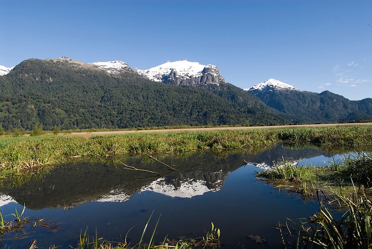 Chile, Lake Country: Beautiful scenery of the Lake Country at Peulla in the Andes..Photo #: ch642-33489.Photo copyright Lee Foster www.fostertravel.com, lee@fostertravel.com, 510-549-2202.