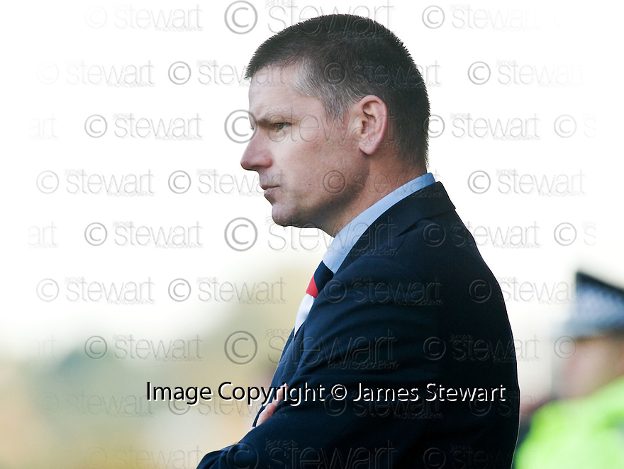 17/10/2009  Copyright  Pic : James Stewart.sct_jspa29_falkirk_v_st_mirren  . :: FALKIRK MANAGER EDDIE MAY DURING THE ST MIRREN GAME :: .James Stewart Photography 19 Carronlea Drive, Falkirk. FK2 8DN      Vat Reg No. 607 6932 25.Telephone      : +44 (0)1324 570291 .Mobile              : +44 (0)7721 416997.E-mail  :  jim@jspa.co.uk.If you require further information then contact Jim Stewart on any of the numbers above.........