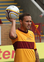 Tom Hateley in the Motherwell v Everton friendly match at Fir Park, Motherwell on 21.7.12 for Steven Hammell's Testimonial.