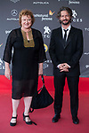 Annette Trumel and Nicolas Ronchi attends to 'Blood Red Carpet' at Sitges Film Festival in Barcelona, Spain October 11, 2017. (ALTERPHOTOS/Borja B.Hojas)