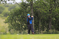 Jack McDonnell (Forrest Little) on the 14th tee during Round 4 of the Connacht Stroke Play Championship at Athlone Golf Club Sunday 11th June 2017.<br /> Photo: Golffile / Thos Caffrey.<br /> <br /> All photo usage must carry mandatory copyright credit     (&copy; Golffile | Thos Caffrey)