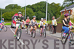 NA GAEIL CYCLE: The start of the Na Gaeil GAA fundraising family cycle on Saturday.