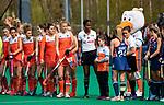 ROTTERDAM - captain  Caia Van Maasakker (Ned)   tijdens de Pro League hockeywedstrijd dames, Netherlands v USA (7-1)  .  COPYRIGHT  KOEN SUYK