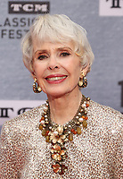 """Los Angeles CA Apr 11: Barbara Rush, arrive to 2019 TCM Classic Film Festival Opening Night Gala And 30th Anniversary Screening Of """"When Harry Met Sally"""", TCL Chinese Theatre, Los Angeles, USA on April 11, 2019 <br /> CAP/MPI/FS<br /> ©FS/MPI/Capital Pictures"""