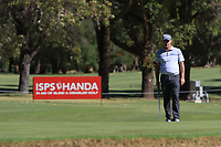 Matthew Millar (AUS) in action on the 1st during Round 2 Matchplay of the ISPS Handa World Super 6 Perth at Lake Karrinyup Country Club on the Sunday 11th February 2018.<br /> Picture:  Thos Caffrey / www.golffile.ie<br /> <br /> All photo usage must carry mandatory copyright credit (&copy; Golffile   Thos Caffrey)