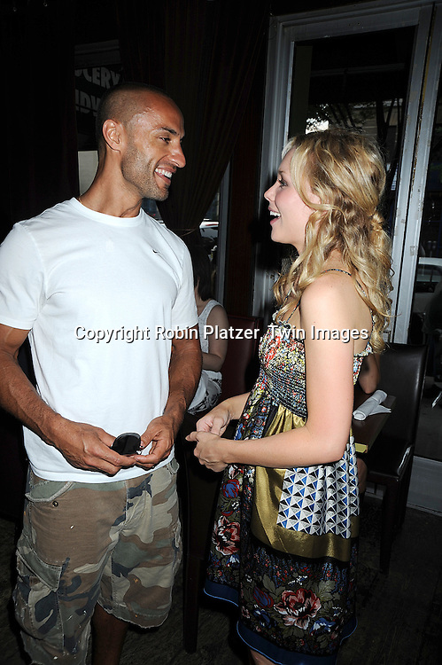 Kamar de los Reyes and Amanda Baker ..at The Gabriel Project Benefit at Prohibition on Columbus Avenue in New York City on June 7, 2008.....Robin Platzer, Twin Images