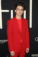 BEVERLY HILLS, CA - OCTOBER 8: Timothée Chalamet, at the Los Angeles Premiere of Beautiful Boy at the Samuel Goldwyn Theater in Beverly Hills, California on October 8, 2018. <br /> CAP/MPIFS<br /> ©MPIFS/Capital Pictures