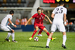 Mckee, Jaimes Anthony of Hong Kong (C) in action during the International Friendly match between Hong Kong and Jordan at Mongkok Stadium on June 7, 2017 in Hong Kong, China. Photo by Marcio Rodrigo Machado / Power Sport Images