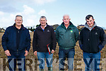 JP Corridan with Judges  Stanley Dean, Barry O'Sullivan and James O'Sullivan at the Ballyheigue's ploughing match at  the Rectory field, Buncurrig on Sunday