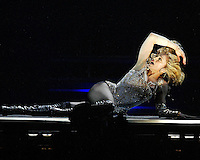 Madonna performs at the Forum on Monday May 24, 2004<br />
