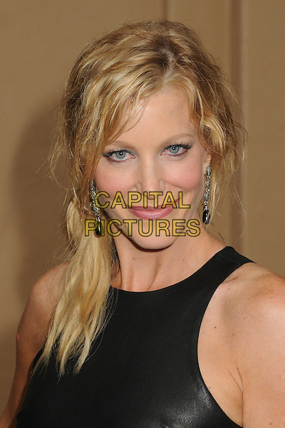 Anna Gunn<br /> &quot;Breaking Bad&quot; Final Episodes Los Angeles Premiere Screening held at Sony Pictures Studios, Culver City, California, USA, 24th July 2013.<br /> portrait headshot black leather sleeveless<br /> CAP/ADM/BP<br /> &copy;Byron Purvis/AdMedia/Capital Pictures