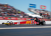 Apr 14, 2019; Baytown, TX, USA; NHRA top fuel driver Brittany Force during the Springnationals at Houston Raceway Park. Mandatory Credit: Mark J. Rebilas-USA TODAY Sports