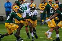 Green Bay Packers wide receiver Geronimo Allison (81) during an Organized Team Activity on May 23, 2017 at Clarke Hinkle Field in Green Bay, Wisconsin.  (Brad Krause/Krause Sports Photography)