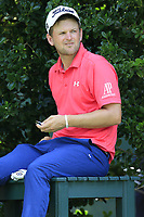 Bernd Wiesberger (AUT) waits at the 14th tee during Thursday's Round 1 of the 2017 PGA Championship held at Quail Hollow Golf Club, Charlotte, North Carolina, USA. 10th August 2017.<br /> Picture: Eoin Clarke | Golffile<br /> <br /> <br /> All photos usage must carry mandatory copyright credit (&copy; Golffile | Eoin Clarke)