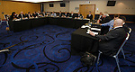 Discussions continue in the Hampden committiee rooms with the SPL, SFA and SFL
