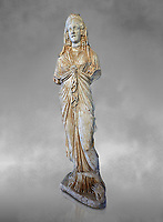 Roman statue of Priestess of Isis,  2nd century AD from Hierapolis. Hierapolis Archaeology Museum, Turkey