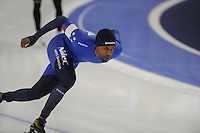 SPEEDSKATING: BERLIN: Sportforum Berlin, 27-01-2017, ISU World Cup, Shani Davis (USA), ©photo Martin de Jong